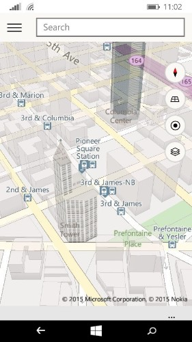Microsoft brings its new Maps app to Windows 10 preview for phones