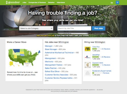 New Glassdoor features use data science to help you find work