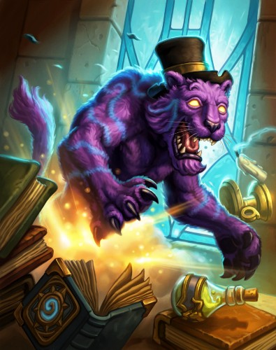 Hearthstone's design team has an obsession: top hats