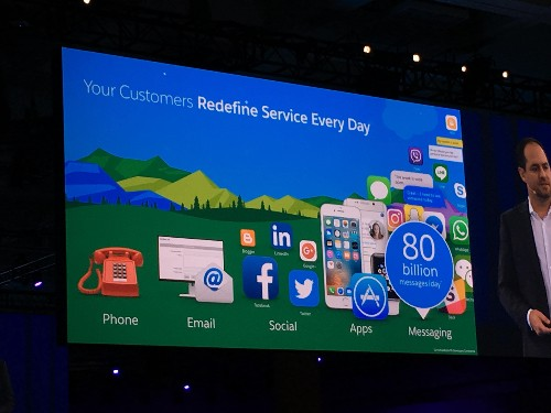Salesforce LiveMessage will let service reps talk with customers on Messenger, Line, SMS, WeChat