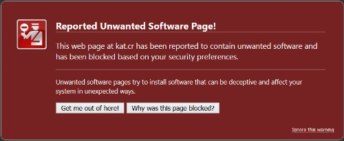 Google blocks Kickass Torrents in Chrome and Firefox due to 'harmful programs'