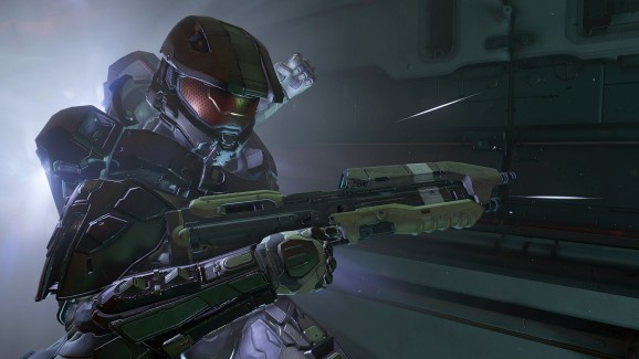Here's what playing Halo 5 on HoloLens looks like