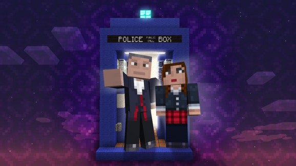 Doctor Who time-travels to Minecraft on Xbox 360