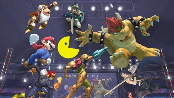 With eight players, Super Smash Bros. for the Wii U is a riot (preview)
