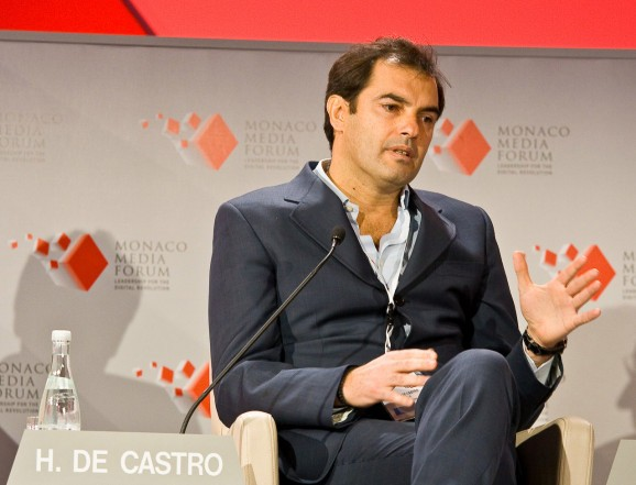 Yahoo COO Henrique De Castro fired for failing to boost ad sales