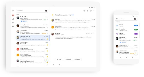 Gmail for Android and iOS gets Google's Material Theme