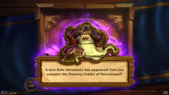 Hearthstone's Curse of Naxxramas finale, the Frostwyrm Lair, is now live