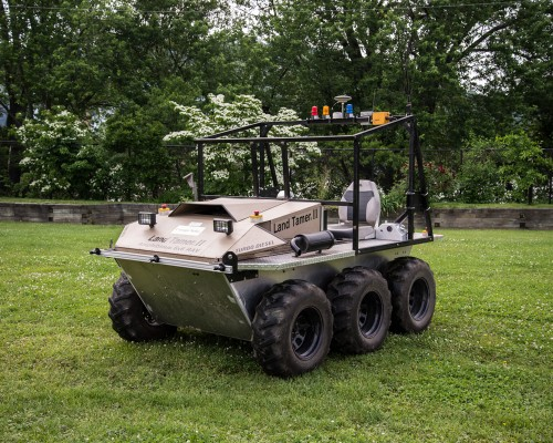 Helicopter drones and driverless cars now working in tandem