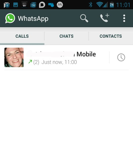 WhatsApp for Android now lets all users make voice calls