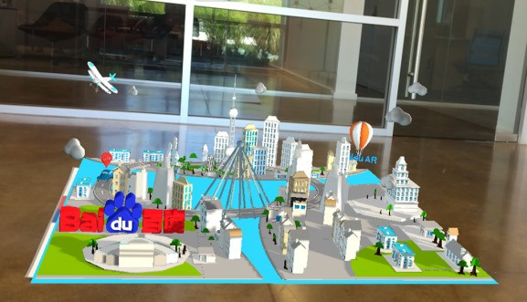Baidu launches DuSee augmented reality platform, integrates into mobile search app