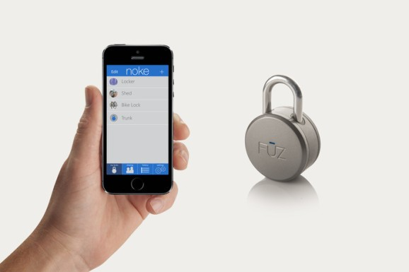 Noke is a Bluetooth padlock you unlock with your phone