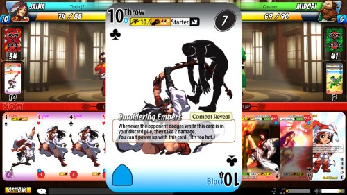 Yomi is a fun way to learn a fighting game through cards, but be ready to learn the hard way