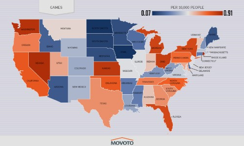 Here are the games that each U.S. state is illegally downloading the most [updated]
