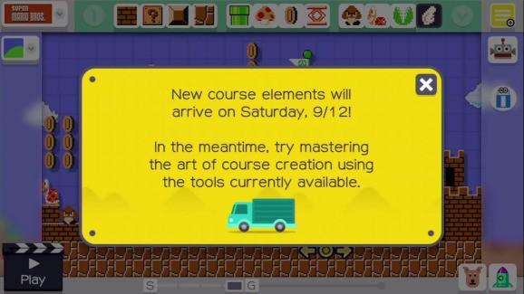 Super Mario Maker patch removes item-unlock delay — now 15 minutes, not 1 day, per batch