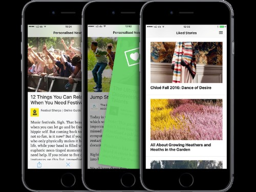 Last.fm's founders relaunch Lumi as a news curation app powered by swipes and social networks