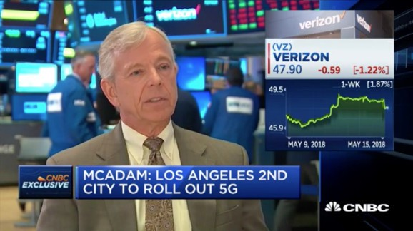 Verizon promises fixed 5G for Los Angeles by Q4 2018, mobile 5G by Q1 2019