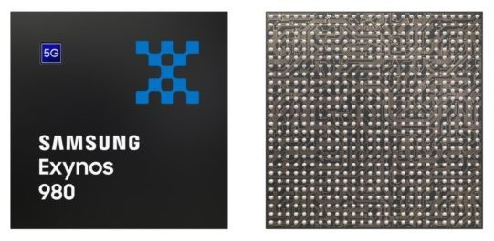 Samsung debuts Exynos 980, a single-chip 5G modem, CPU, and GPU
