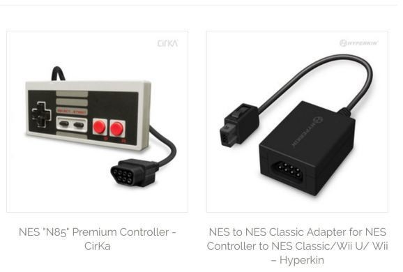 Hyperkin's NES Classic peripherals let you use a real NES gamepad