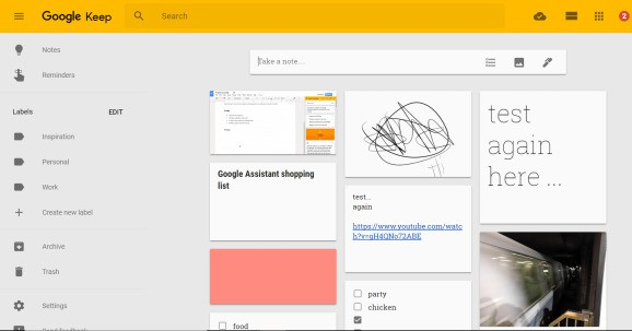 Google brings Keep to G Suite, launches Docs integration