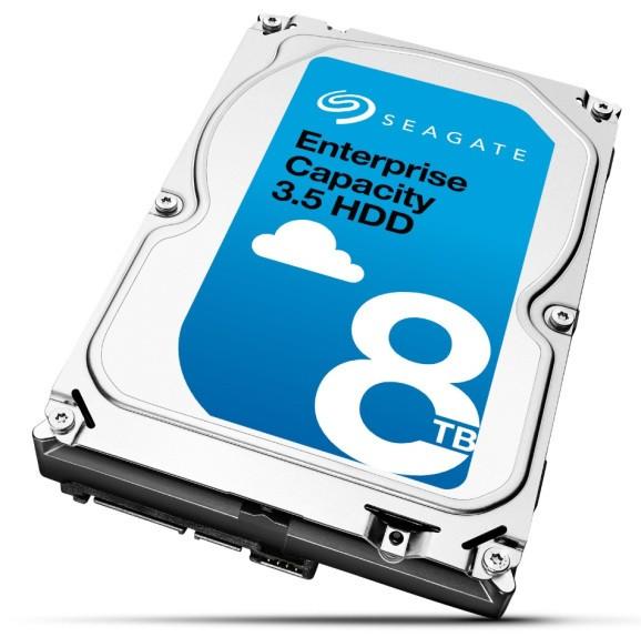 Seagate launches 8TB enterprise hard drives