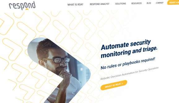 Respond Software raises $20 million for 'decision bots' that emulate human security analysts