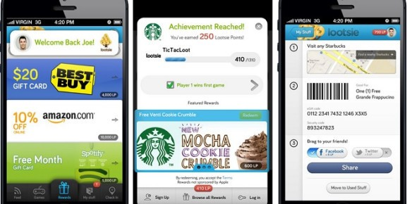 Lootsie moves into rewards for mobile and social gamers