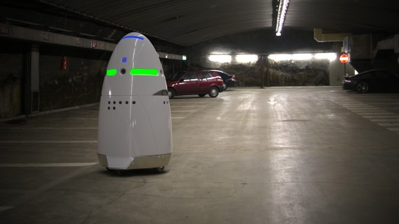 I, for one, welcome our new surveillance robot overlords