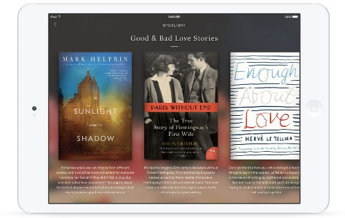 Oyster, the Netflix for e-books, tops half a million titles & looks to get social