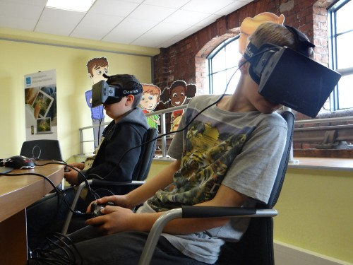 Don't like the idea of virtual reality? Doesn't matter — your kids will