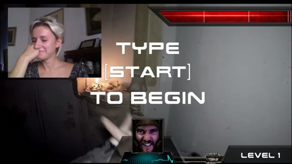 Watch Chatroulette users play the first real-life first-person shooter game