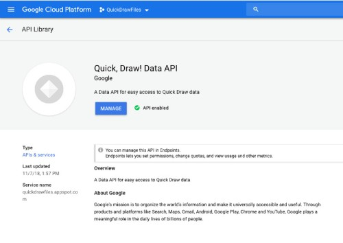 Google makes dataset of 50 million drawings available on its cloud