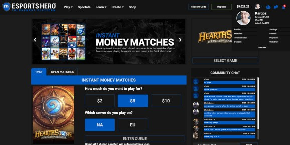 Esports Hero raises $1M to get gamers competing for cash