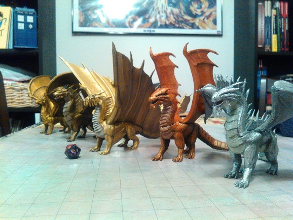 3D-printing Dungeons & Dragons' Monster Manual