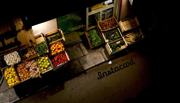 Grocery delivery giant Instacart raises $220M at a rumored $2B valuation