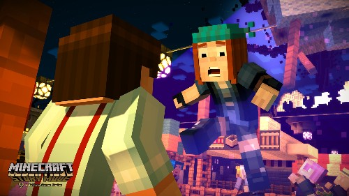 Minecraft: Story Mode understands that the blocky world is worth exploring deeper