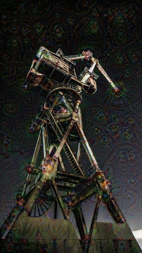 Look at all the psychedelic art people are creating with Google's DeepDream AI code