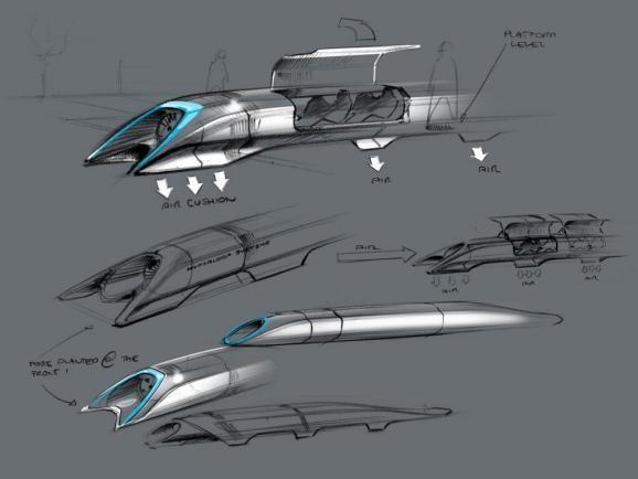 Elon Musk's 800-mph Hyperloop would turn high-speed trains into snail rail
