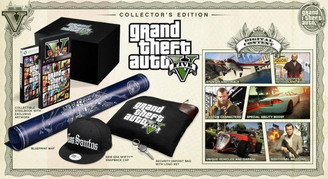 This is what a $150 Grand Theft Auto V: Collector's Edition looks like