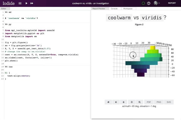 Mozilla releases Iodide, an open source browser tool for publishing dynamic data science