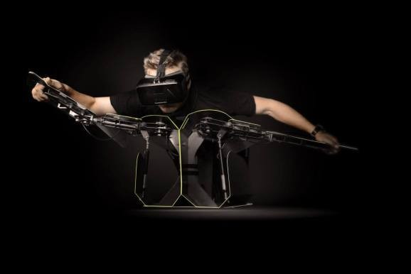 Hypersuit promises to let you fly through virtual reality