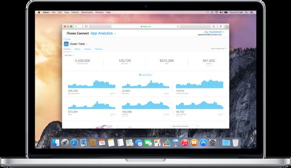 Apple's new app analytics tool is now available to all registered iOS developers