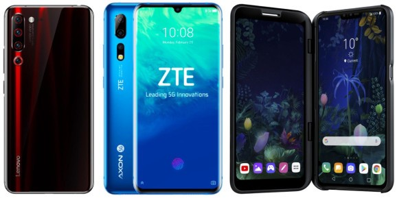 Lenovo and ZTE set 5G phone launches for April and May as LG halts V50