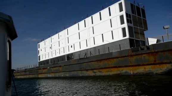 Google barge revealed: Party boat, showboat
