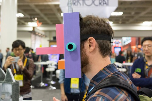 Imaginative, handmade controllers power these unique games (gallery)
