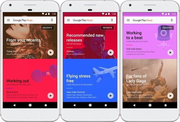 Google revamps Play Music with optional recommendations based on your location and activity