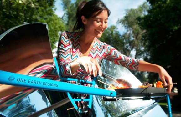 Sun-powered eco-friendly grill burn past its Kickstarter goal
