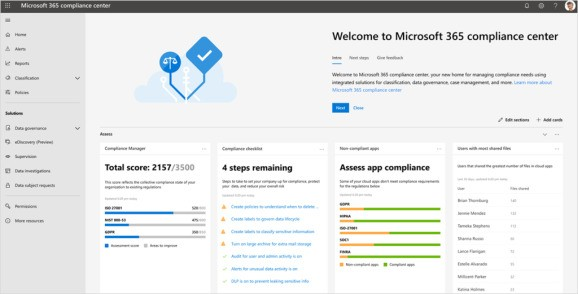 Microsoft 365 gets new compliance and data privacy features
