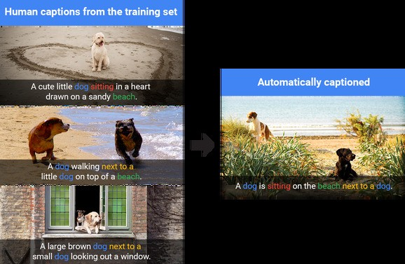 Google open-sources Show and Tell, a model for producing image captions
