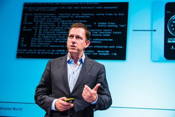 VC Peter Thiel: You can either invest in 'bits' or 'atoms'