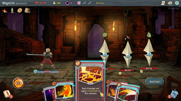 Slay the Spire's blend of roguelike and deck-builder hits PS4 on May 21